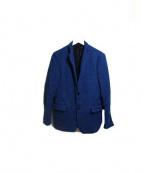 TOMORROWLAND(トゥモローランド)の古着「レイヤードツイードジャケット」|ブルー
