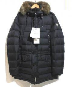 MONCLER(モンクレール)の古着「レイヤードダウンコート」|ブラック