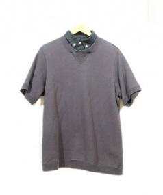 sacai(サカイ)の古着「レイヤードスウェット」|ネイビー