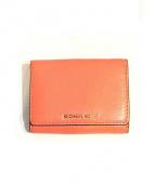 MICHAEL KORS(マイケルコース)の古着「2つ折り財布」|オレンジ