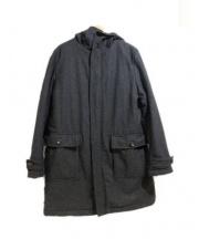 JOHNBULL(ジョンブル)の古着「フーデッドコート」 グレー