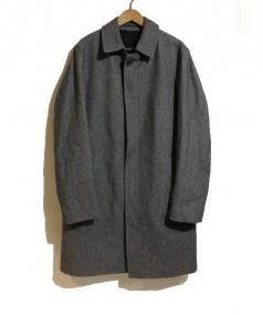 HERNO(ヘルノ)の古着「ヴァージンウールコート」|グレー
