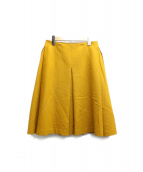 beautiful people(ビューティフル ピープル)の古着「stretch W cloth tucked skirt」