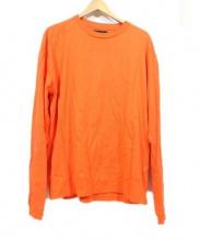 Vainl Archive(ヴァイナル アーカイブ)の古着「長袖カットソー」|オレンジ