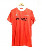 Gosha Rubchinskiy(ゴーシャラブチンスキー)の古着「Jersey T-Shirt」|レッド
