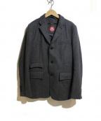 sage de cret(サージュデクレ)の古着「ウールジャケット」|グレー