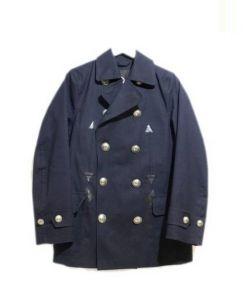 MACKINTOSH(マッキントッシュ)の古着「ゴム引きPコート」|ネイビー