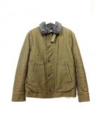 H.R.MARKET(ハリウッドランチマーケッド)の古着「ジャーマンクロスデッキジャケット」|オリーブ