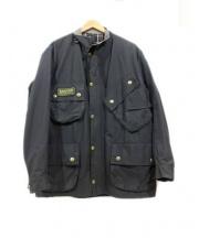 Barbour(バブアー)の古着「インターナショナルジャケット」|ブラック