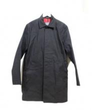 GREAT COAT ARTHUR(グレートコートアーサー)の古着「ステンカラーコート」|ブラック