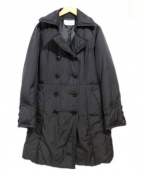courreges(クレージュ)の古着「ダウンコート」|ブラック