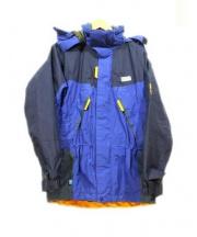 KARRIMOR(カリマー)の古着「pinnacle jkt」 ブルー×イエロー