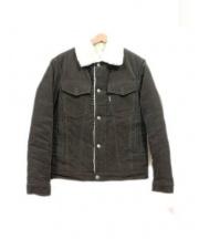 MAISON KITSUNE(メゾンキツネ)の古着「コーデュロイジャケット」|オリーブ