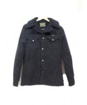 Wrangler(ラングラー)の古着「ボアランチジャケット」|ブラック