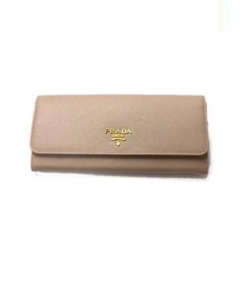 super popular 5e376 2a3a3 [中古]PRADA(プラダ)のレディース 服飾小物 サフィアーノ長財布