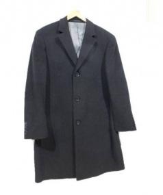 Calvin Klein(カルバンクライン)の古着「チェスターコート」|ブラック