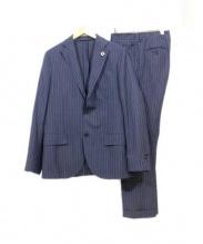 LARDINI(ラルディーニ)の古着「セットアップスーツ」|ネイビー
