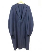 SUNSEA(サンシー)の古着「Nice Material Coat」|ネイビー