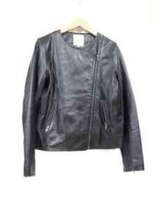 B:MING LIFE STORE(ビーミングライフストア)の古着「シープレザージャケット」|ブラック