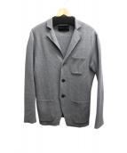 ESTNATION(エストネーション)の古着「ミラノリブニットジャケット」|グレー