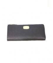 MICHAEL KORS(マイケルコース)の古着「長財布」 ブラック