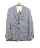MACKINTOSH(マッキントッシュ)の古着「テーラードジャケット」|ホワイト×ブルー