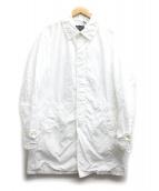 BLUE WORK(ブルーワーク)の古着「ポリエステルナイロンステンカラーコート」