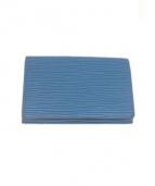 LOUIS VUITTON(ルイ・ヴィトン)の古着「カードケース」 ブルー