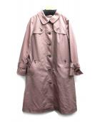 CHRISTIAN AUJARD(クリスチャンオジャール)の古着「ライナー付トレンチコート」 ピンク