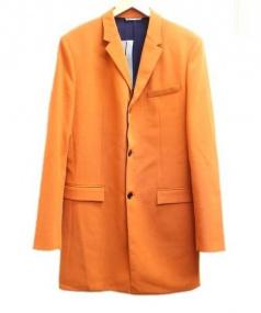 Christian Dior(クリスチャン ディオール)の古着「チェスターコート」|オレンジ