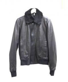 Dior HOMME(ディオールオム)の古着「レザージャケット」 ブラック