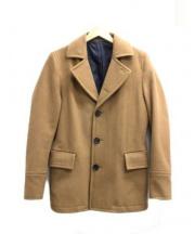 Paul Smith(ポールスミス)の古着「シングルPコート」|ブラウン