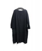 YARRA(ヤラ)の古着「シャツワンピース」 ブラック