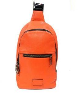 COACH(コーチ)の古着「ボディーバッグ」|オレンジ