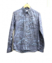 UNIFORM EXPERIMENT(ユニフォームエクスペリメント)の古着「カモフラシャツ」|ブルー