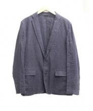 Calvin Klein(カルバンクライン)の古着「リネンジャケット」|パープル