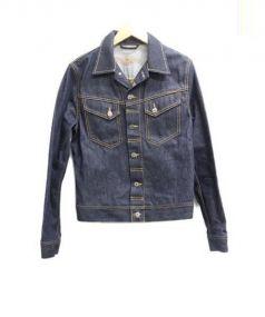 Nudie Jeans(ヌーディー ジーンズ)の古着「デニムジャケット」|インディゴ