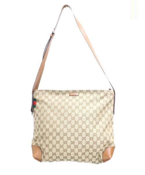 check out 1047a ac89c [中古]GUCCI(グッチ)のレディース バッグ キャンバスショルダーバッグ