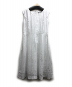 DAMA collection(ダーマ・コレクション)の古着「ノースリーブワンピース」|ホワイト