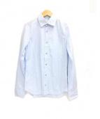 JIL SANDER(ジルサンダー)の古着「スリムフィットシャツ」|スカイブルー