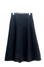 EPOCA(エポカ)の古着「スポンディッシュウールミディ丈フレアスカート」