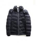 BLACK LABEL CRESTBRIDGE(ブラックレーベルクレストブリッジ)の古着「インナーベスト付3way中綿ジャケット」|ブラック
