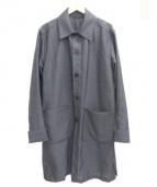 MARNI(マルニ)の古着「ステンカラーコート」|グレー