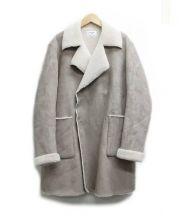 LE GLAZIK(ル・グラジック)の古着「ムートンコート」 ベージュ