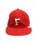 visvim(ヴィズビム)の古着「EXCELSIOR CAP」|レッド