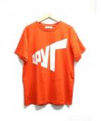 Gosha Rubchinskiy(ゴーシャラブチンスキー)の古着「Tシャツ」|オレンジ