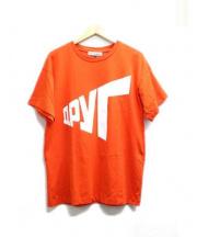 Gosha Rubchinskiy(ゴーシャラブチンスキー)の古着「Tシャツ」 オレンジ