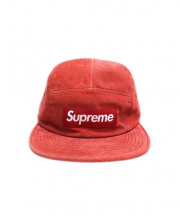 Supreme(シュプリーム)の古着「suede camp cap」 レッド