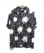 JUNYA WATANABE MAN(ジュンヤワタナベマン)の古着「アロハシャツ」|ホワイト×ブラック