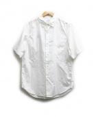 visvim(ヴィズビム)の古着「ELLAS SHIRT S/S YOKOSO」|ホワイト